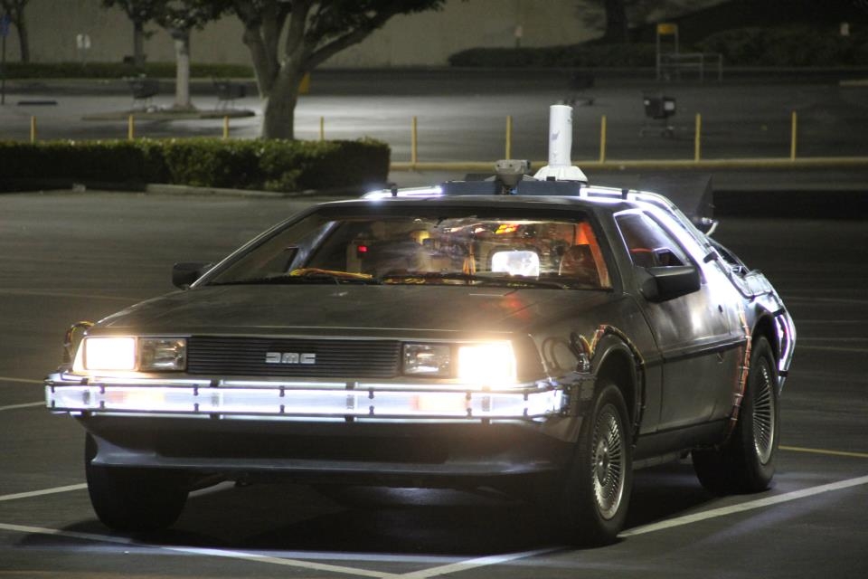 Delorean Movie Car For Sale