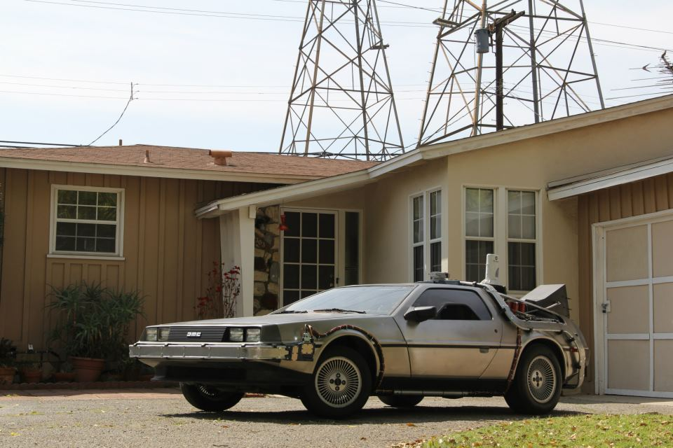 Delorean Time Machine For Sale
