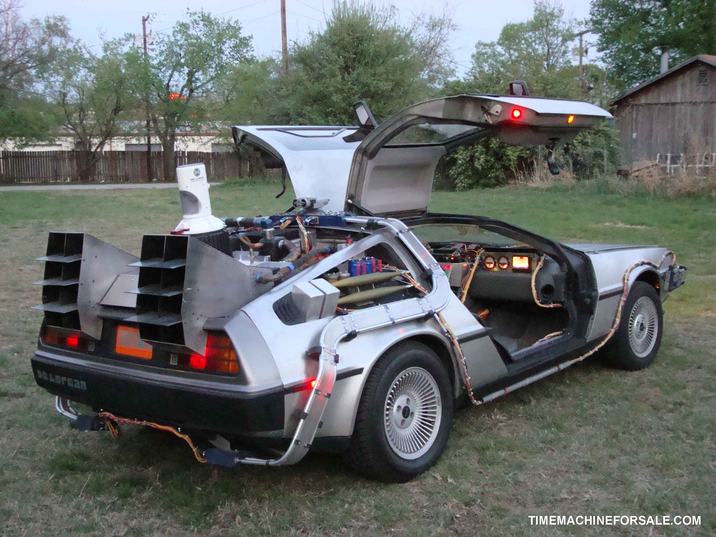 Deloreans For Sale >> Delorean Time Machine for Sale